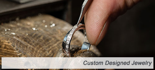 custom designed jewelry